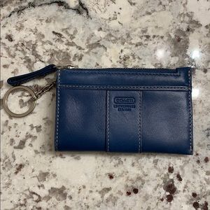 Coach Bags - Coach ID Wallet with key ring EUC